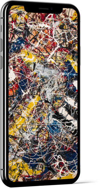 Number 17A by Pollock Wallpaper