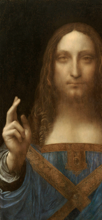 Salvator Mundi Classic Art Wallpaper