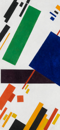 Suprematist Composition by Malevich Wallpaper