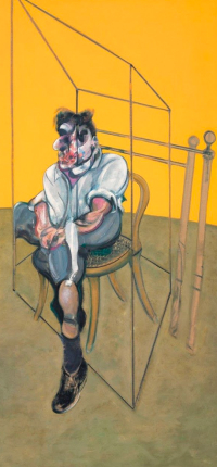 Three Studies of Lucian Freud by Bacon Wallpaper