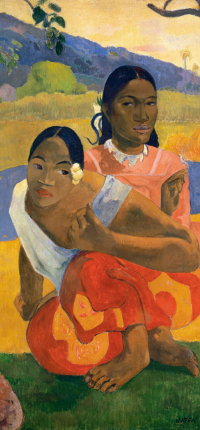 When Will You Marry by Gauguin Wallpaper
