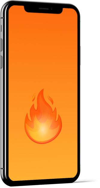 Fire Emoji Wallpaper