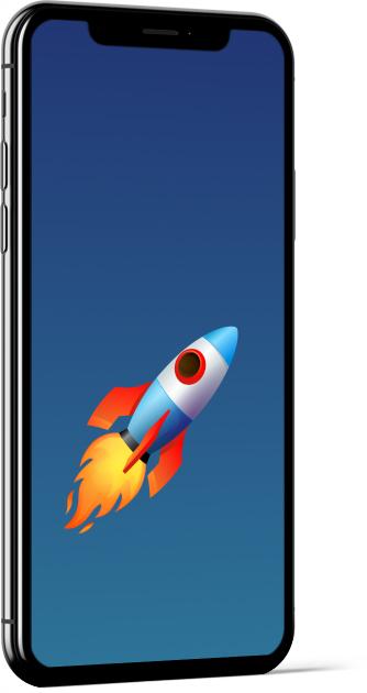 Rocket Emoji Wallpaper