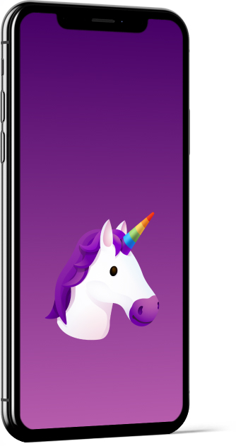 Unicorn Emoji Wallpaper