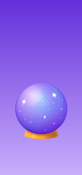 Crystal Ball Emoji Wallpaper