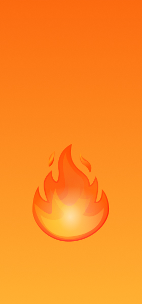 Fire Emoji Wallpaper