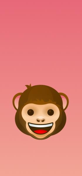 Monkey Emoji Wallpaper