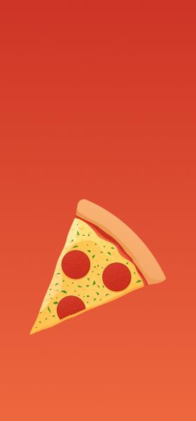 Pizza Emoji Wallpaper