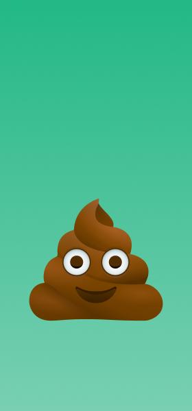 Pile of Poo Emoji Wallpaper