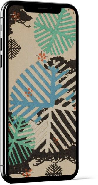 Shin-Bijutsukai VII - Vintage Japanese Design Wallpaper