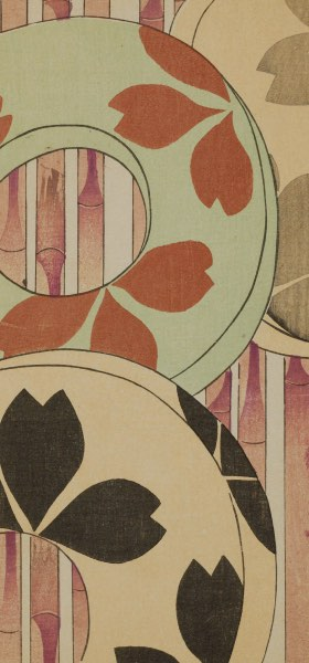 Shin-Bijutsukai I - Vintage Japanese Design Wallpaper