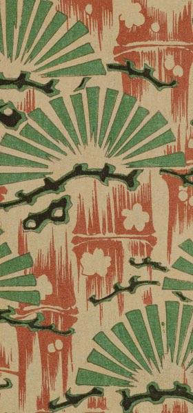 Shin-Bijutsukai II - Vintage Japanese Design Wallpaper