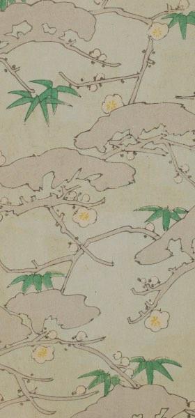 Shin-Bijutsukai IX - Vintage Japanese Design Wallpaper
