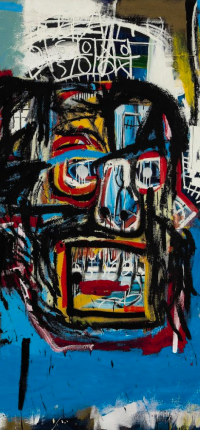 Untitled by Basquiat Wallpaper