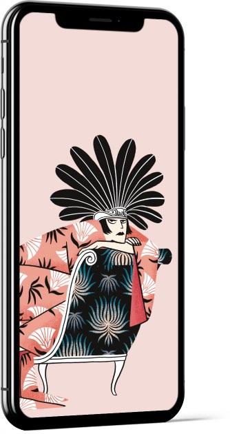 Divan diva - Laura Pacheco Wallpaper
