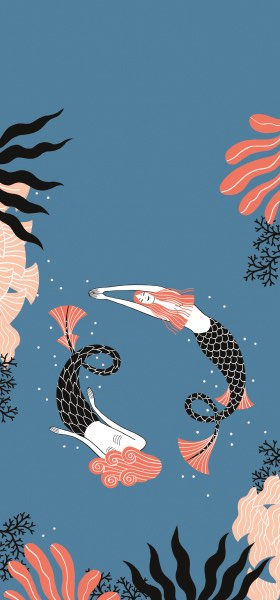 Mermaids by Laura Pacheco Wallpaper
