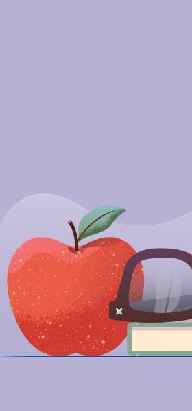 Apple by Miguel Camacho Wallpaper