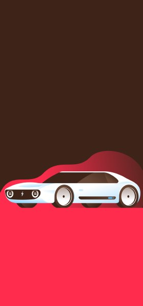 E Car by Miguel Camacho Wallpaper