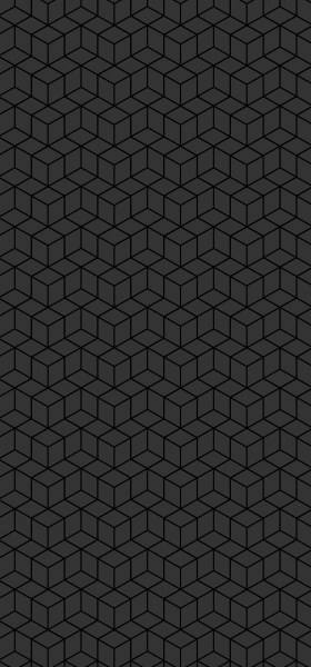 Geometric Cubes in Grey Wallpaper