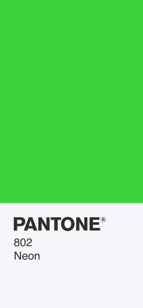 PANTONE 802 Neon Card Wallpaper