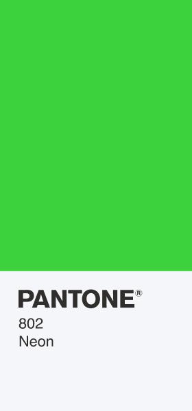 PANTONE 802 Neon Card Wallpaper