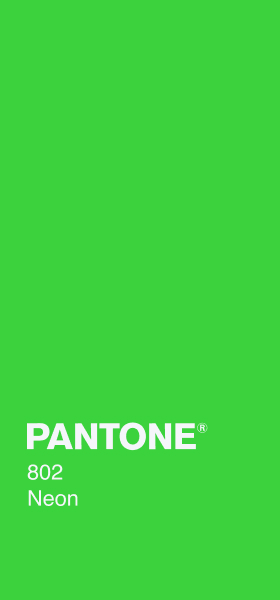 PANTONE 802 Neon Plain Wallpaper