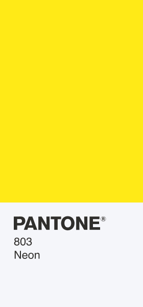 PANTONE 803 Neon Card Wallpaper