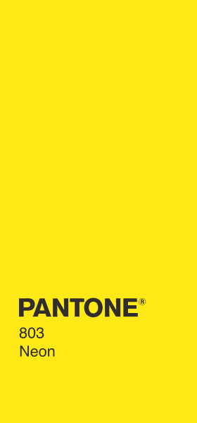 PANTONE 803 Neon Plain Wallpaper