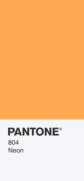 PANTONE 804 Neon Card Wallpaper