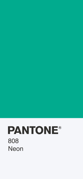 PANTONE 808 Neon Card Wallpaper