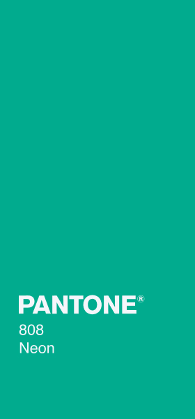 PANTONE 808 Neon Plain Wallpaper