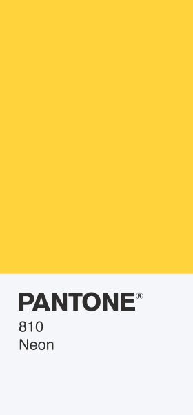 PANTONE 810 Neon Card Wallpaper