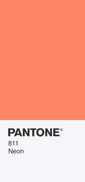 PANTONE 811 Neon Card Wallpaper