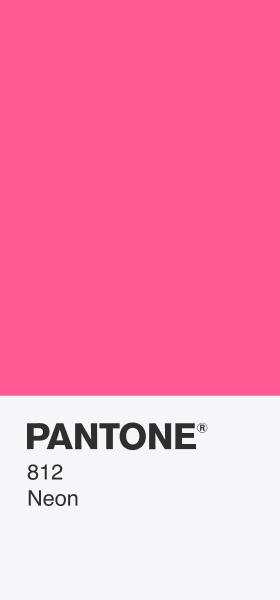 PANTONE 812 Neon Card Wallpaper