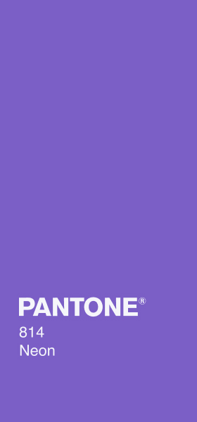 PANTONE 814 Neon Plain Wallpaper