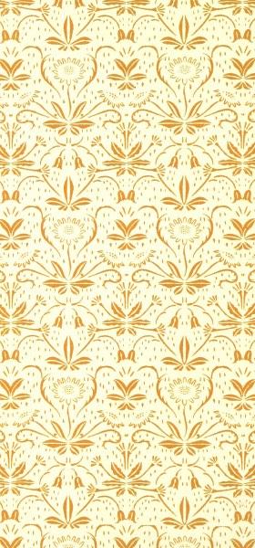 Vintage Decorative Paper Flora's Feast Wallpaper