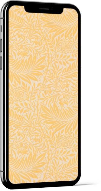 Larkspur Yellow William Morris Wallpaper