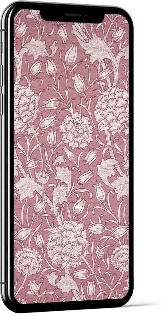 Wild Tulip Pink William Morris Wallpaper