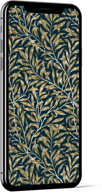 Willow Bough Golden William Morris Wallpaper