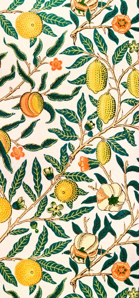 Fruit William Morris Wallpaper