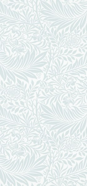 Larkspur Light Blue by William Morris Wallpaper