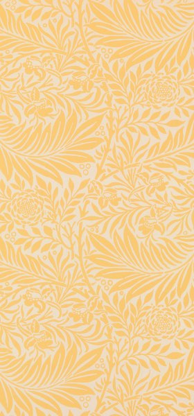 Larkspur Yellow William Morris Wallpaper