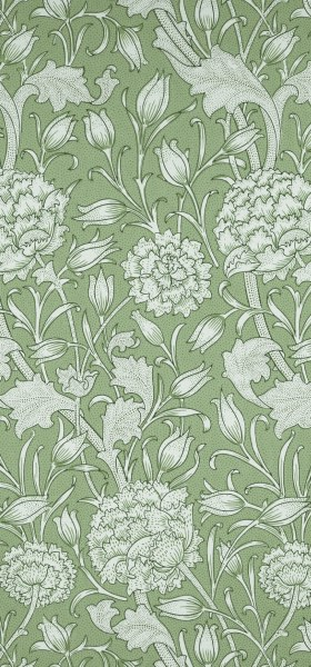 Wild Tulip Green William Morris Wallpaper