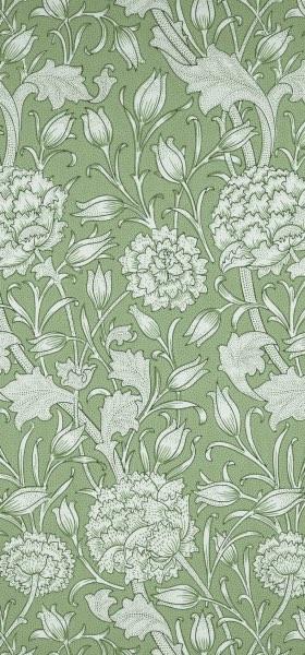 Wild Tulip Green William Morris Wallpaper