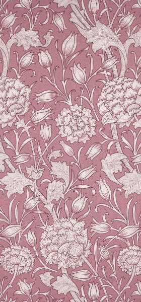 Wild Tulip Pink William Morris Wallpaper