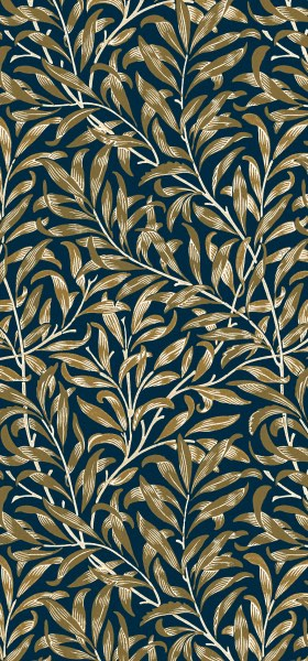 Willow Bough Golden William Morris Wallpaper