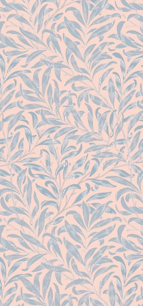 Willow Bough Pink William Morris Wallpaper