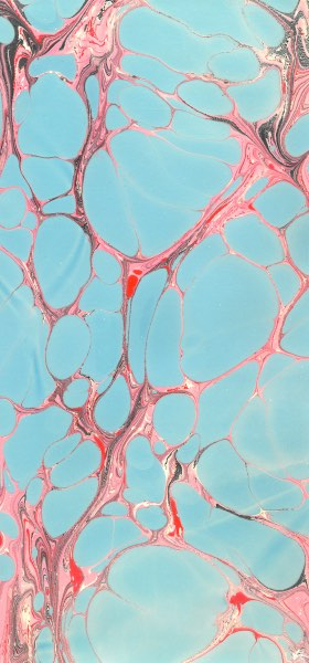 Paper Marbling Texture in Blue and Pink Wallpaper