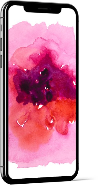 Watercolor Texture Pink Wallpaper