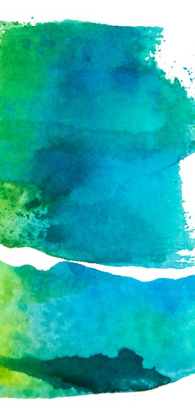 Watercolor Texture Blue Wallpaper